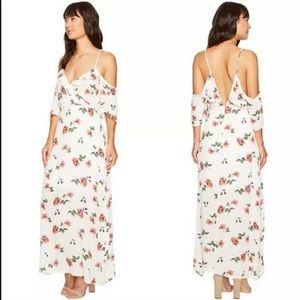 Romeo and Juliet White Floral Maxi Dress